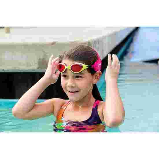 Finis Frogglez Kinder-Schwimmbrille Grün/Pink