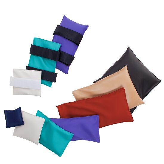 Fitness Sandbag With Velcro fastening, 0.5 kg, 15x15 cm