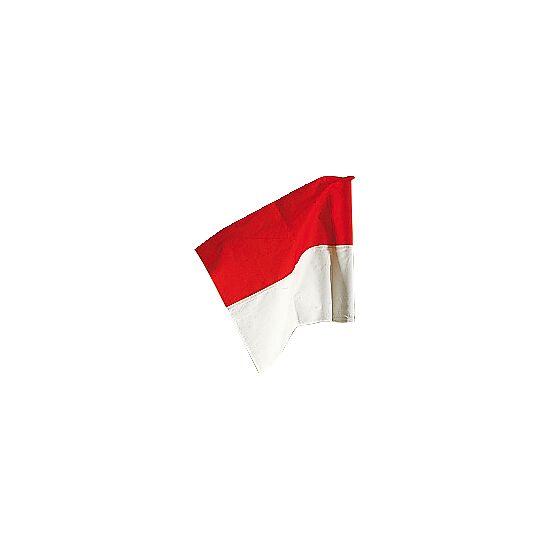 Flag til markeringsstænger, ø 50 mm Rød-hvid