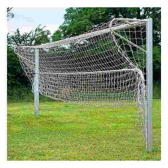 Folding aluminium ground frame, for standard-size football goals, 7.32x2.44 m