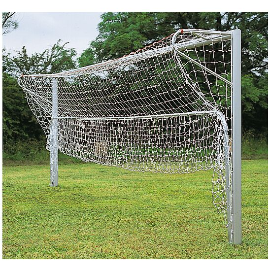 Folding aluminium ground frame, for youth football goals, 5x2 m