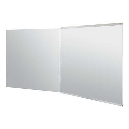 Folding Foil Mirror for Wall Mounting 150x100/200 cm