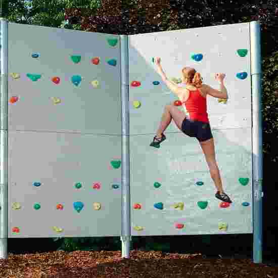Frei stehende Boulderwand mit Schieferplattenstruktur 2 Elemente - ca. 15 m²