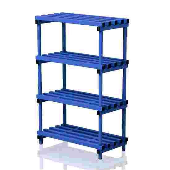 """Frei stehendes Kunststoff-Regal """"Schwimmbad"""" 100x50 cm, Blau"""