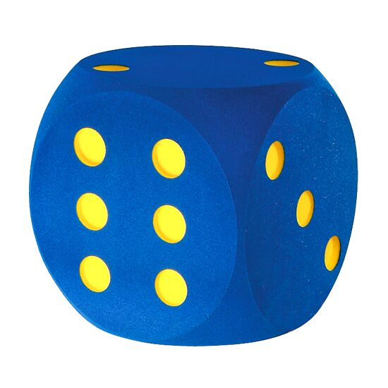 Giant Foam Dice Blue, 30 cm