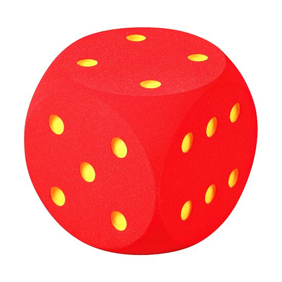 Giant Foam Dice Red, 30 cm