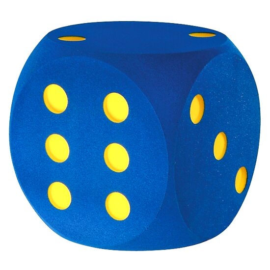 Giant Foam Dice Blue, 50 cm