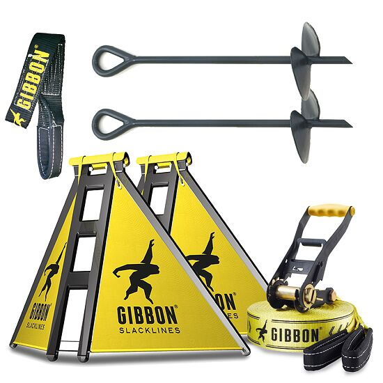 "Gibbon Slackline-Set ""Independence Kit Classic"""