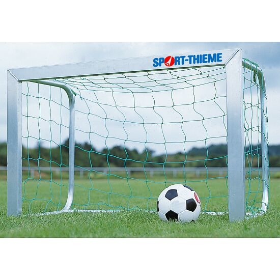 Goal Nets for Mini Goals, Mesh Width 10 cm For goals 1.20x0.80 m, goal depth 0.70 m, Green