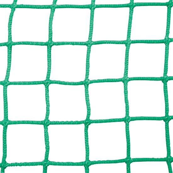 Goal Nets for Mini Goals, Mesh Width 10 cm For goals 2.40x1.60 m, goal depth 1 m, Green
