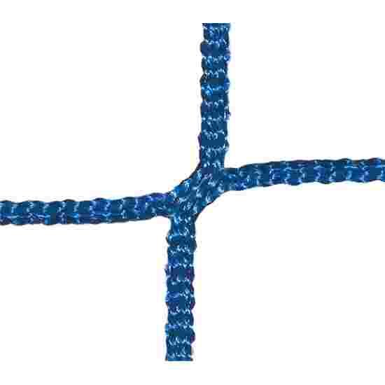 Goal Nets for Mini Goals, Mesh Width 10 cm For goals 2.40x1.60 m, goal depth 0.70 m, Blue