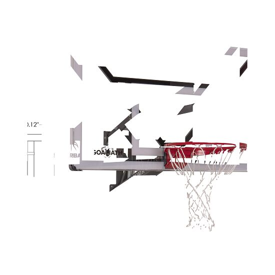 "Goaliath Basketball-Wandanlage ""Go Tek 54"""