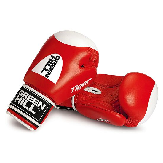 "Green Hill® ""Tiger"" Boxing Gloves 12 oz., red"