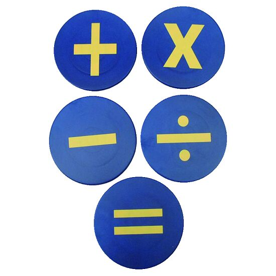 "Ground Markers ""Maths symbols"""