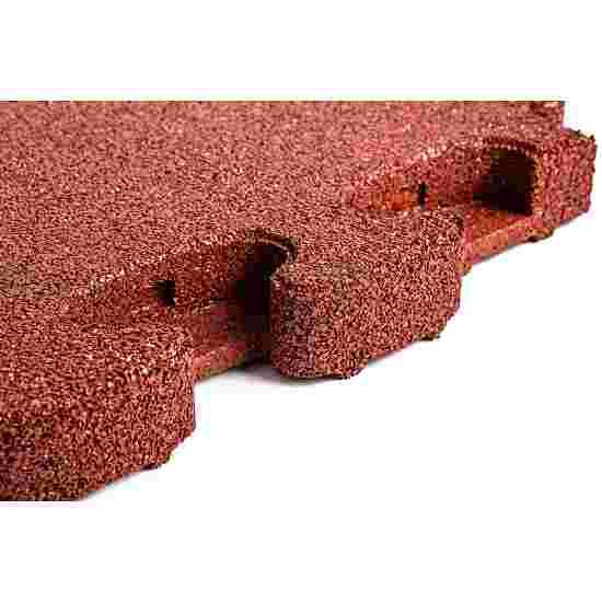 """Gum-Tech Fallschutzplatte """"Puzzle mat 3D"""" 6 cm, Rot"""