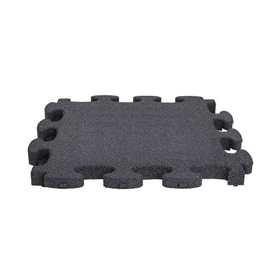 """Gum-Tech Fallschutzplatte """"Puzzle mat 3D"""" 8 cm, Schwarz"""