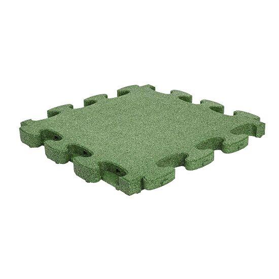 """Gum-Tech Fallschutzplatte """"Puzzle mat 3D"""" 4,5 cm, Grün"""