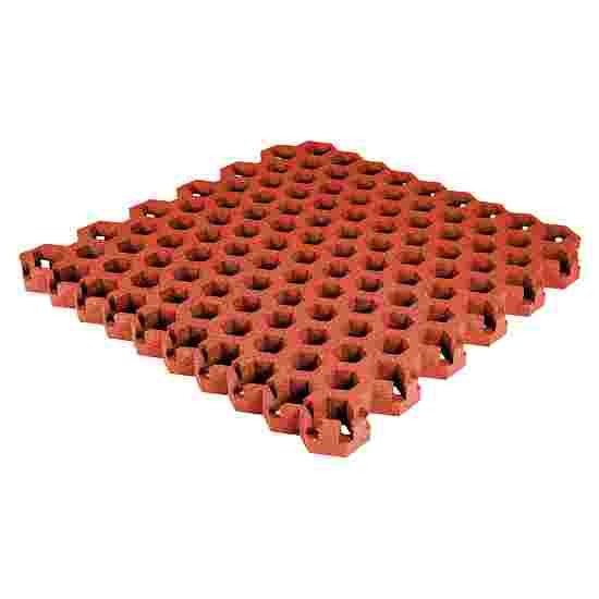 "Gum-Tech Rasengitter ""Hexagon"" 4,5 cm, Rot"