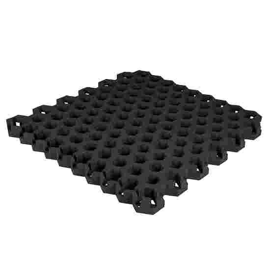 """Gum-Tech Rasengitter """"Hexagon"""" 4,5 cm, Schwarz"""