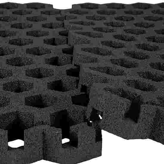 """Gum-Tech Rasengitter """"Hexagon"""" 6,5 cm, Schwarz"""