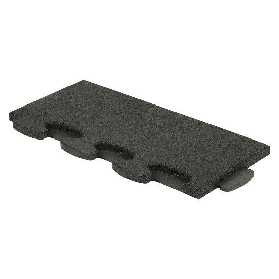 """Gum-Tech Sportboden  """"Puzzle 3D Gymallrounder"""" Randstück gerade, 30 mm"""