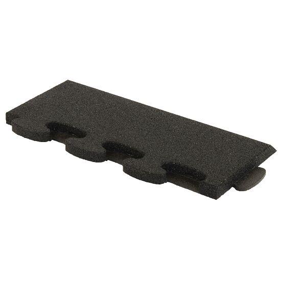"""Gum-Tech Sportboden  """"Puzzle 3D Gymallrounder"""" Randstück schräg, 30 mm"""