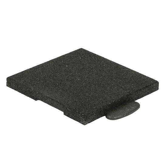 """Gum-Tech Sportboden  """"Puzzle 3D Gymallrounder"""" Eckstück gerade, 30 mm"""