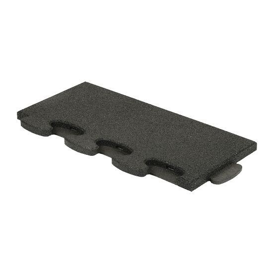 """Gum-Tech Sportboden  """"Puzzle 3D Gymallrounder"""" Randstück gerade, 22 mm"""