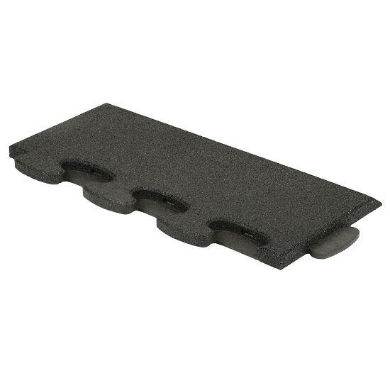 """Gum-Tech Sportboden  """"Puzzle 3D Gymallrounder"""" Randstück schräg, 22 mm"""