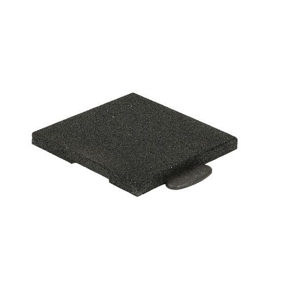 """Gum-Tech Sportboden  """"Puzzle 3D Gymallrounder"""" Eckstück gerade, 22 mm"""