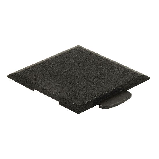 """Gum-Tech Sportboden  """"Puzzle 3D Gymallrounder"""" Eckstück schräg, 22 mm"""