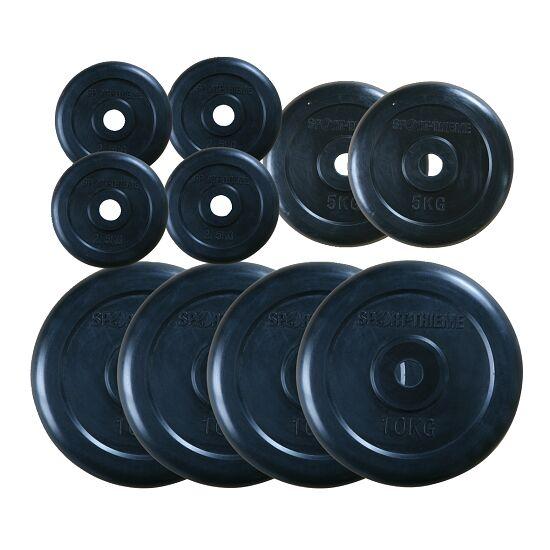 Gummi vægtsskive-sæt 60 kg