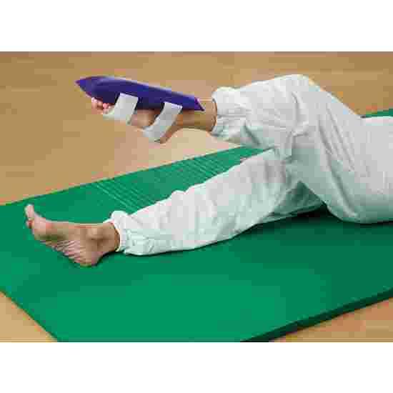 Gymnastik-Sandsæk Med klæbebånd, 2 kg, 30x15 cm