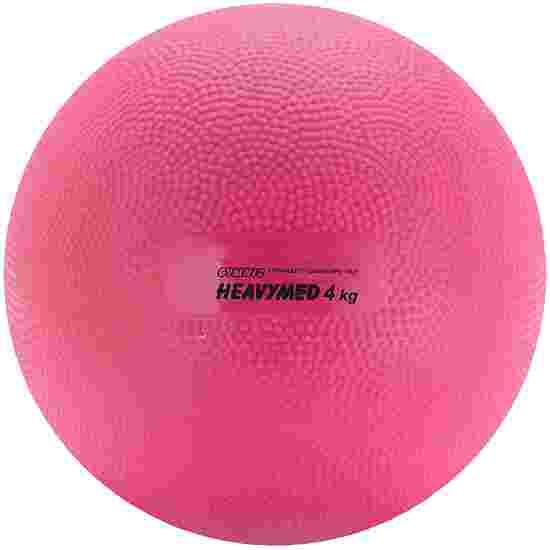 """Gymnic """"Heavy Med"""" Medicine Ball 4,000 g, ø 20 cm, magenta"""