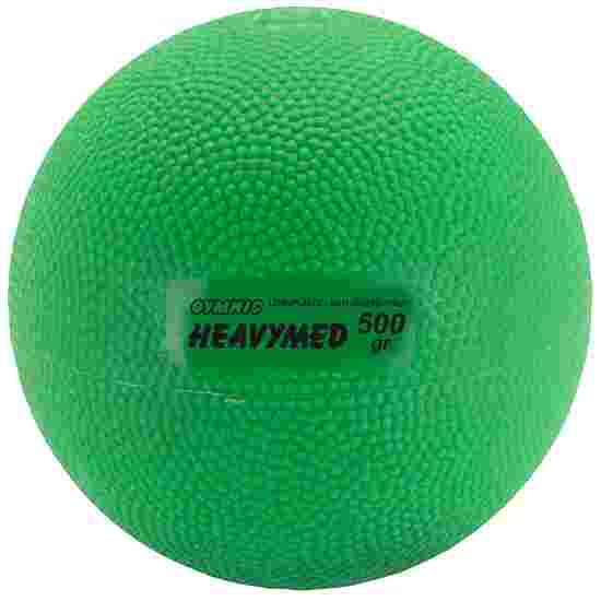 Gymnic Heavy Med 500 g, ø 10 cm, green