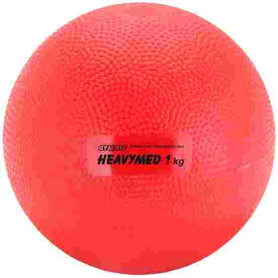 Gymnic Heavy Med 1,000 g, ø 12 cm, red