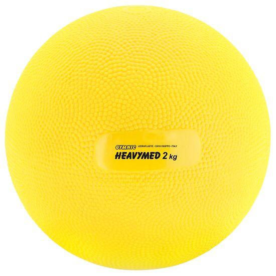 Gymnic® Heavy Med 2,000 g, ø 15 cm, yellow