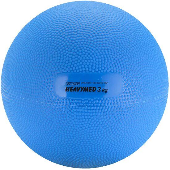 Gymnic® Heavy Med 3,000 g, ø 17 cm, blue