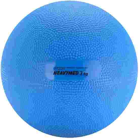 Gymnic Heavy Med 3,000 g, ø 17 cm, blue