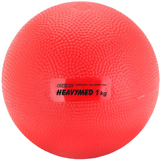 Gymnic® Heavymed 1.000 g, ø: 12 cm, rød