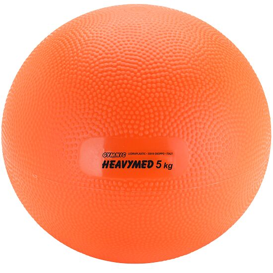 Gymnic Heavymed 5.000 g, ø 23 cm, Orange