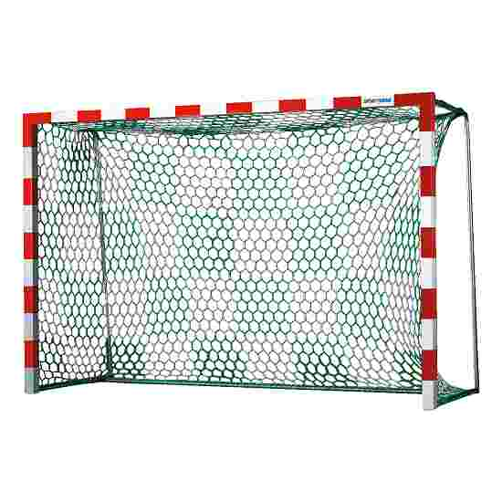 Handball Goal Nets with Chessboard Pattern White/green