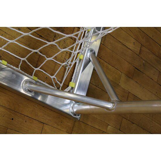 Handball Goal With attachable net brackets, Black/white