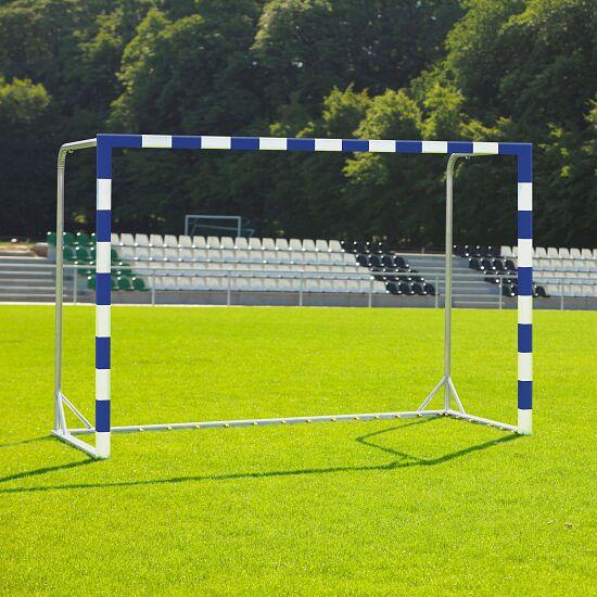 Handball Goal With attachable net brackets, Blue/white