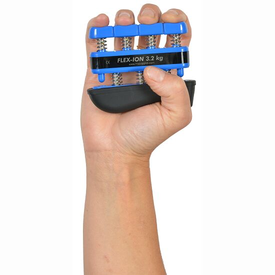 "Handtrainer ""Flex-Ion"" Blau - 3,2 kg/Finger"