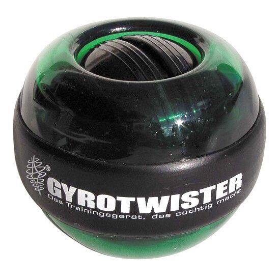 Handtrainer GyroTwister® Grün/Schwarz