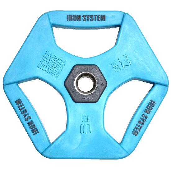 Hot Iron® Hantelscheiben, 10 kg PU