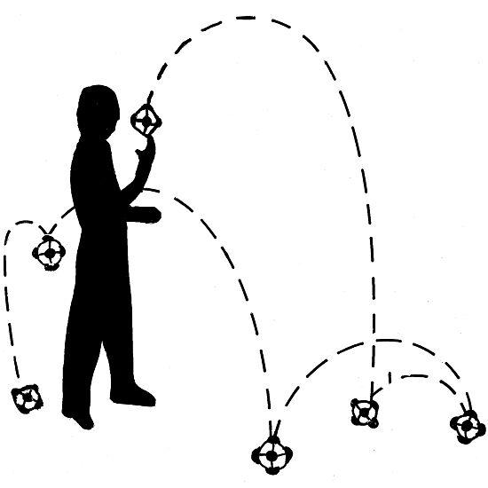 Humør-bold Stor - ø: 10 cm.