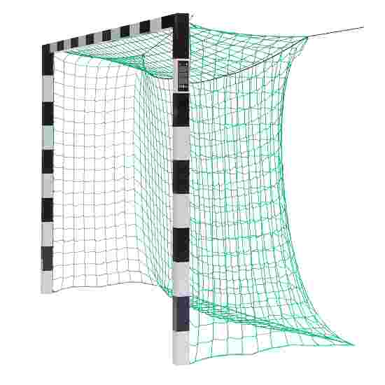 Indendørs Håndboldmål 3x2 m Uden netbøjler, Sort-sølv