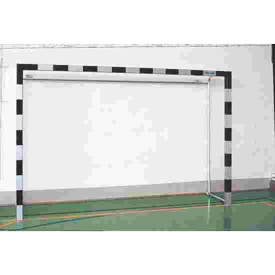 Indendørs håndboldmål af aluminium 3x2 m. Med faststående netbøjler
